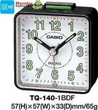 AUSSIE SELER CASIO ALARM DESK CLOCK TQ-140-1BD TQ-140 TQ140 12 MONTH WARANTY