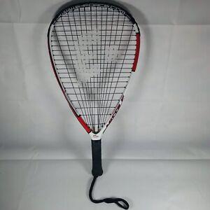 "E-Force Missile Racquetball Racquet 22"" Longstring Zero Richter Tubes 4"" Grip"