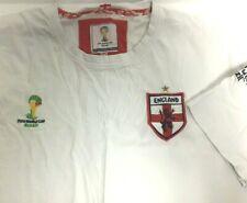 England FIFA World Cup Brasil 2014 Shirt Football Soccer Brazil Men 2XL XXL