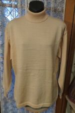 VINTAGE  ~ DESIGN STUDIO ~ Bone Roll/Polo  JUMPER ~ Size M ~ REDUCED !!