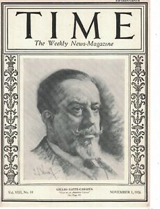 1926 Time November 1 - Canton Ohio Corruption; Eugene Debs; 1st mosque in London