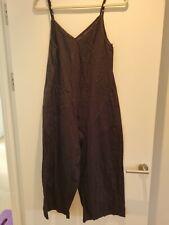 ASOS Wide Leg Linen Blend Jumpsuit 10