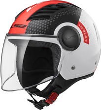 Ls2 Casco Moto Of562 Airflow Condor Bianco/nero/rosso M