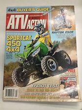 ATV Action Magazine Sportcat 450 4x4 YFZ501 Test February 2011 032617nonR