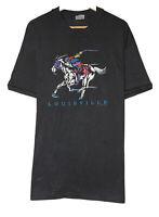 Vtg Louisville Kentucky Derby 1991 Men's Size XL Single Stitch Black T-Shirt USA