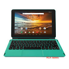 "RCA Viking Pro10 Android 6.0 10.1"" 2-in-1 Tablet 16GB Quad Core Teal HD"