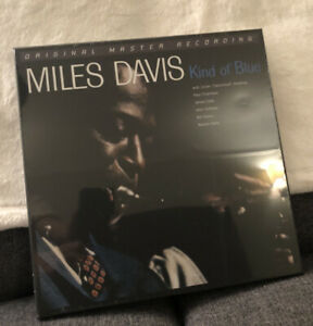 Miles Davis Kind of Blue 45 RPM Mofi Vinyl - Sealed - In Hand Free Shipping