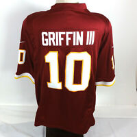 Robert Griffin III Jersey RG3 Washington redskins Home 10 Stitched Embroidered L