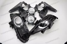 Fog Driving light Lamps & Covers bracket Kits for Ford Fusion/Mondeo 2013-2016