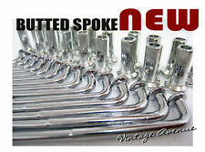 SUZUKI T500 I/II/III/R/J/K/L/M FRONT *BUTTED* CHROME SPOKE SET 36PCS [8/9/61]