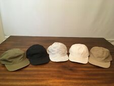 Publish Hats, lot of 5 Assorted colors, adjustable.