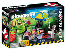 Playmobil 9222 Cazafantasmas ™ Hot Dog Stand con Delgado
