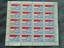 US RETURN THE HOSTAGES  Mint Sheet