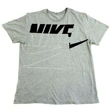 Vintage Men's NIKE T Shirt, Grey , Size XL