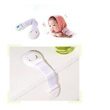 10pc Cabinet Door Drawers Refrigerator Toilet Safety Plastic Lock For Baby Kids