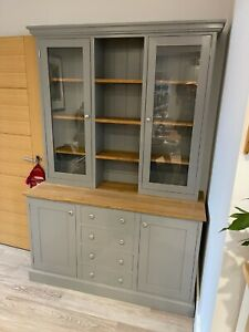 Welsh dresser painted solid wood 4ft