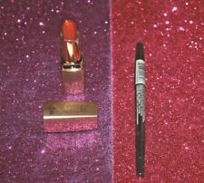 MILANI COLOR PERFECT LIPSTICK #24 ORANGE-GINA UNSEALED & EYELINER