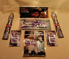 Justin Bieber Oral Care Lot of Toothbrushes Flossers and Two Travel Kits NEW