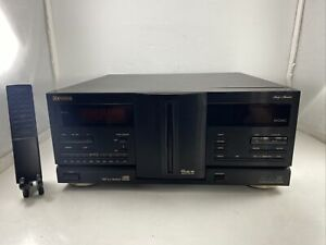 FISHER DAC-2403 STUDIO 24 CD DISC PLAYER CHANGER (INCLUDES REMOTE ) TESTED