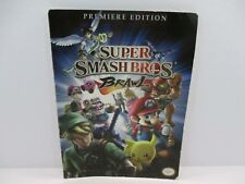 Nintendo Super Smash Bros. Brawl Game Manual Premiere Edition Book Only