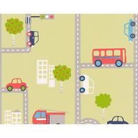 comme création ville route TRAFIC Motif feu moteur Cars