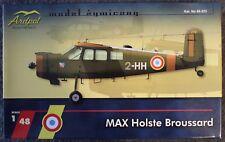 [Rare] ARDPOL 1/48° Kit résine,P.E, decalques MAX HOLSTE MH1521 BROUSSARD