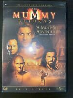 The Mummy Returns (Full Screen Collector's Edition) - DVD Adventure Movie