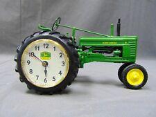 Danbury Mint John Deere 1:16 Scale Green Farm Tractor 730 Die Cast Clock