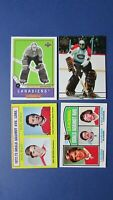 KEN DRYDEN  (14 DIFF)  MONTREAL CANADIENS CARDS TOPPS  1973/1979  & Team Canada