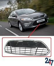 NEW FORD MONDEO MK4 IV 10 - 15 FRONT BUMPER CHROME CENTER LOWER RADIATOR GRILL
