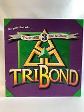 TriBond Board Game Complete with Instructions 1992 Edition