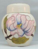 Moorcroft pink magnolia Ginger Jar