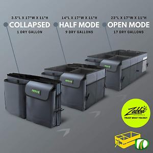 Car Organizer Seat / Trunk Storage Box Collapsible Auto Multi Compartment Holder