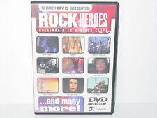 "****DVD-VARIOUS ARTISTS""ROCK HEROES-Original Hits & Video Clips""-2001 Disky****"
