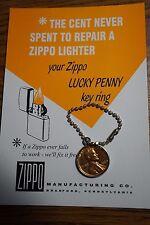 1960 Zippo Penny w/Card .