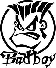 Bad Boy Bumper Sticker Vinyl car stickers funny graphics van ford vw decals