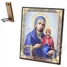 Ikone Heilige Anna Holz 15x18 Анна Праведная  икона