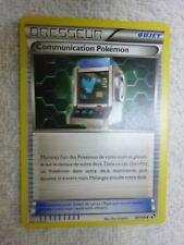 Carte pokémon dresseur communication Pokemon 99/114 peu commune NOIR ET BLANC