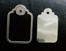 Sizzix Die Cutter  RECTANGLE TAG  Thinlits fits Big Shot Cuttlebug