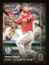 2016 Topps Now ~ Card # 227 ~Mike Trout~Starting AL OF in 2016 MLB All Star Team