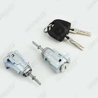 VW TRANSPORTER MK V DOOR LOCK SET + 2 KEYS BARREL FRONT LEFT AND RIGHT