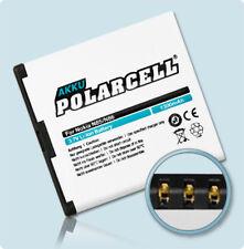 PolarCell Akku für Nokia C7-00 N85 N86 8MP Oro 701 X7-00 BL-5K Batterie Accu