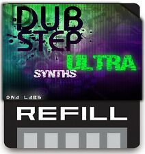 REASON REFILLS DUBSTEP ULTRA SYNTHS DNA LABS EXCLUSIVE NEW!
