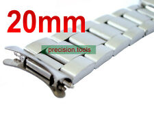 20mm Solid Stainless Steel Buckle Oyster Replacement Bracelet For Date-just 1601