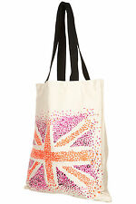 TOPSHOP eco friendly union jack shopping sac shopping réutilisable rétro vintage bnwt