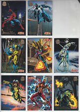 Marvel Cards Universe 1994-First Edition-Lot 1-8 Cards