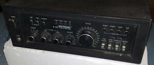 UNITRONIC  A-109  stereo amplifier  amplificatore vintage non funzionante