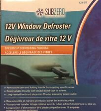 SUBZERO 12 V Window Defroster ~ Car SUV Truck ~ Speeds Up Defrosting ~ New