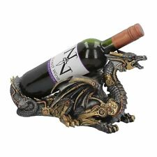 Guardian of the Grapes Dragon Steampunk Wine Bottle Holder  32 cm
