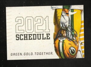 Green Bay Packers--2021 Pocket Schedule